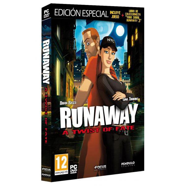 Runaway: A Twist of Fate - Portada