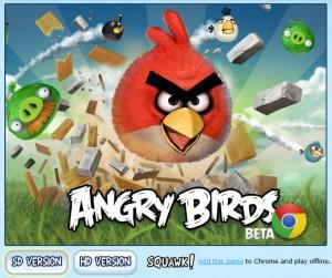 Angry Birds para Google Chrome