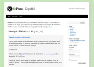bbPress.org.es