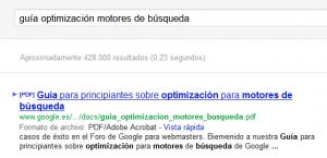 PDF en Google