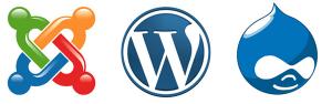 Joomla! - WordPress - Drupal