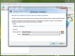 Windows 8 Preview - VirtualBox - 1