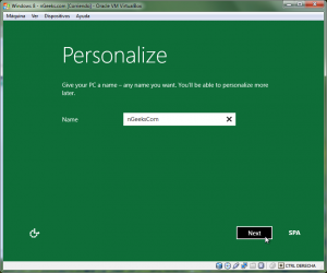 Windows 8 Preview - VirtualBox - 18