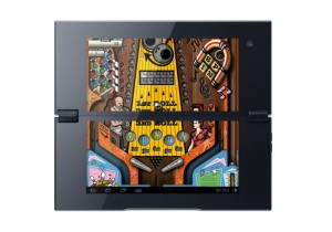 Sony Tablet P - Pinball Heroes