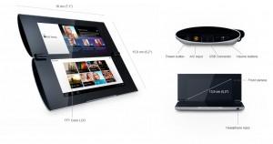 Sony Tablet P - Especificaciones