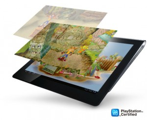 Sony Tablet S - PlayStation