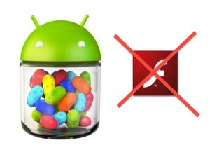 Android Jelly Bean Flash Player