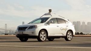 Google Self-driving car - Lexus