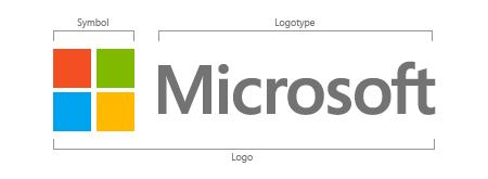 Microsoft Logo - Symbol and Logotype