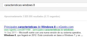 Not Provided - Características Windows 8