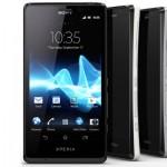 Sony Xperia T - Negro, blanco y plata