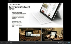 Sony Xperia Tablet - Cover with Keyboard - SGPSK1