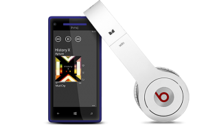 HTC 8X - Beats Audio