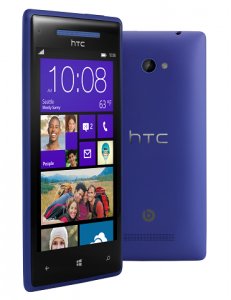 HTC 8X - California Blue