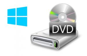 Windows 8 - Unidad DVD