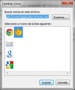 Google Chrome - Iconos