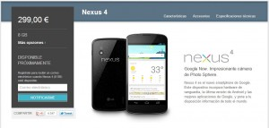 Google Play - Nexus 4