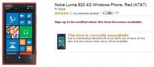 Nokia Lumia 920 - Amazon