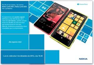 Nokia Lumia 920 y Nokia Lumia 820 - Presentación en España