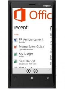 Windows Phone 8 - Office