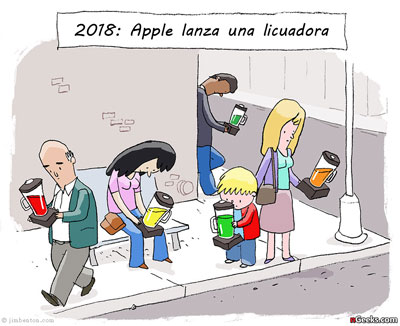 2018: Apple lanza una licuadora