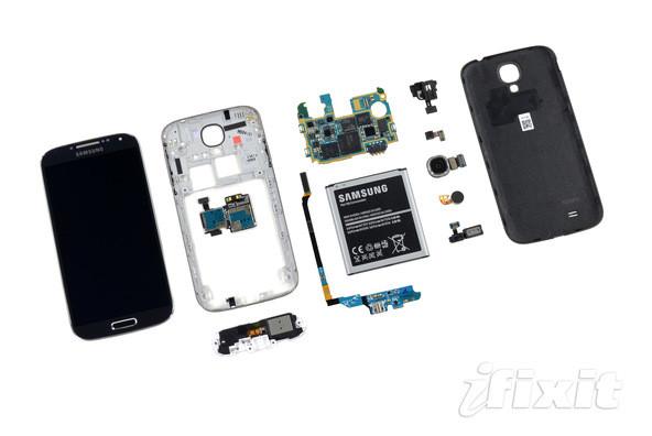 Galaxy S4 desmontado