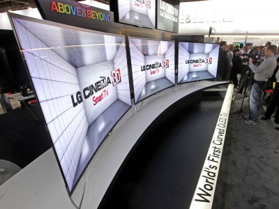 LG pantalla curvada OLED