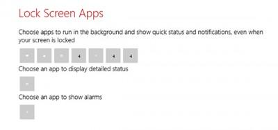Windows 8.1 Lock Screen Apps