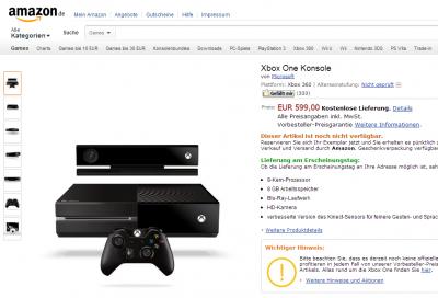 Xbox One - Amazon.de