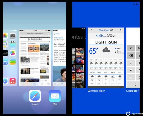 Comparativa entre iOs 7 y Windows Phone 8 ¿Cúal es el mejor?