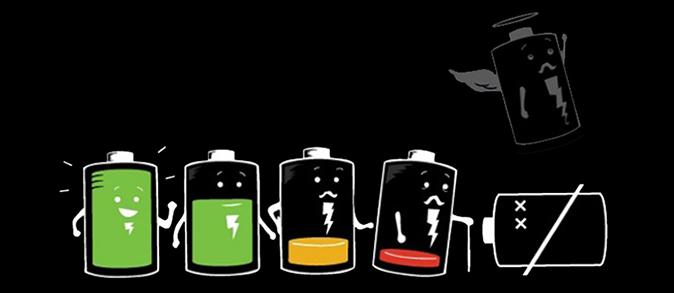 Smartphones con mayor batería