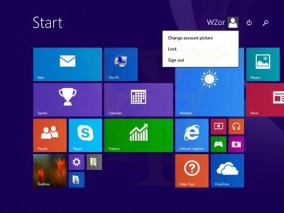 Windows 8.1 Update 1 Inicio