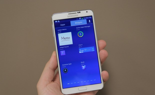 Galaxy Note 3 se actualiza a Android KitKat