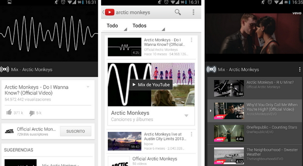 Mix-youtube-android