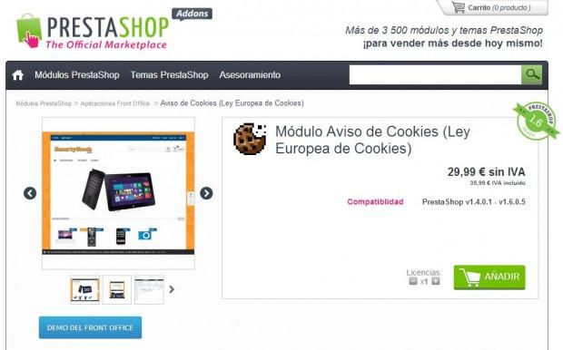 PrestaShop-Aviso-de-Cookies