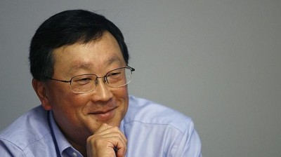 El presidente de BlackBerry