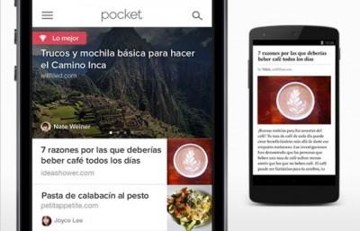 Pocket ya está localizado al castellano