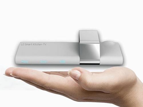 Smartkitchen TV: proyecta tus programas en la encimera