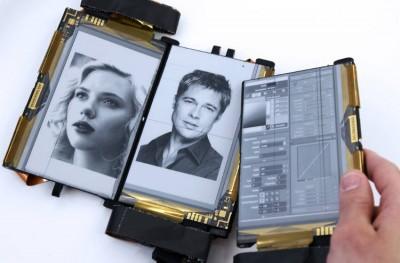 Paperfold y la tinta electrónica