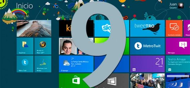 Al parecer, Windows 9 seguirá la estela de Windows 8