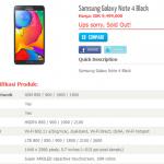 Filtradas las características completas del Samsung Galaxy Note 4