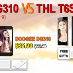 Doogee DG310 vs THL T6S, ¿con cuál te quedas?