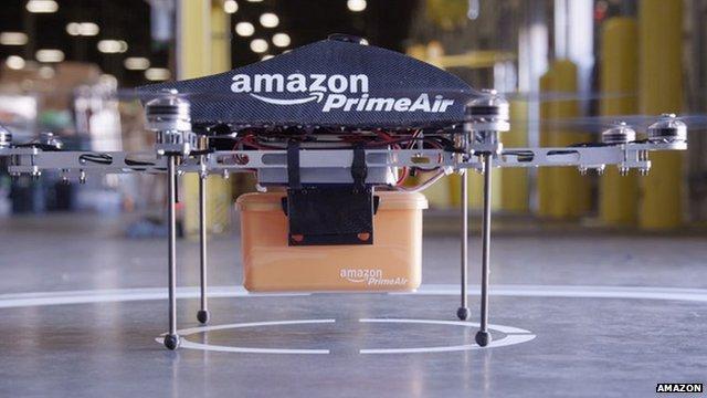 La NASA asegura que la entrega con drones conlleva algunos peligros