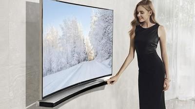 Llega la primera barrera de sonido curva de la mano de Samsung