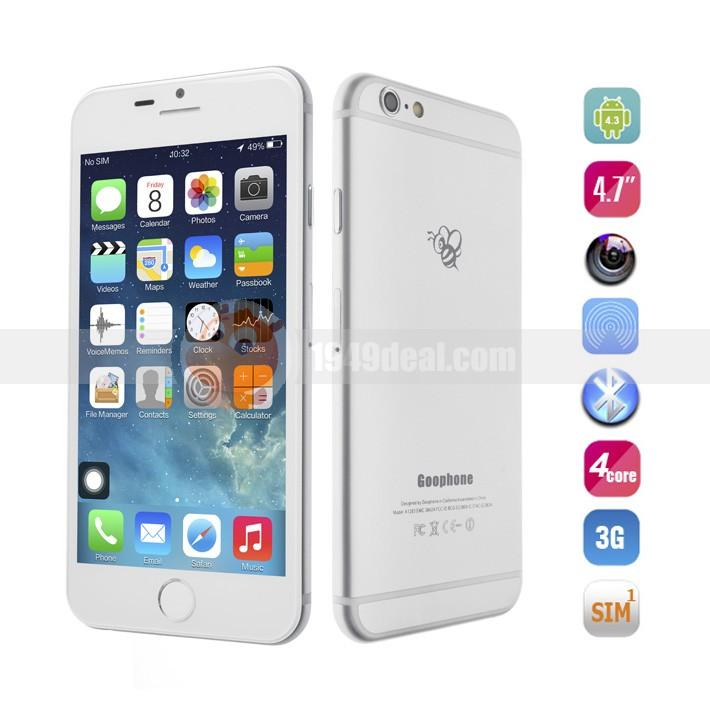 Goophone I6: ya está aquí la mejor réplica del iPhone 6