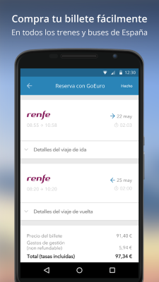 GoEuro App Android 3