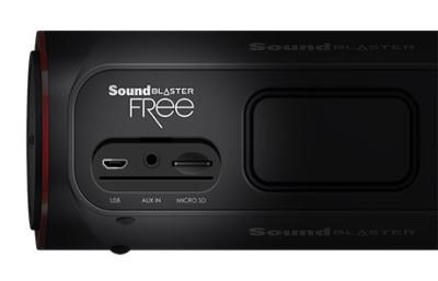 Creative Sound Blaster FRee Entradas