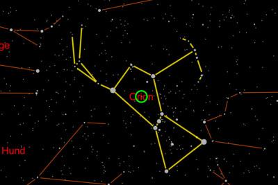 Universe2go Sternbild