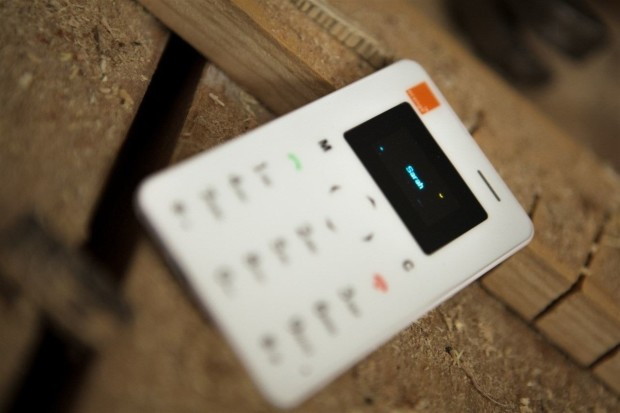 Orange Card Phone