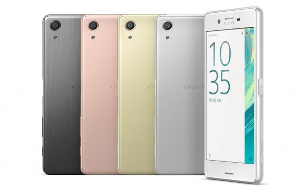 Sony Xperia X Colores